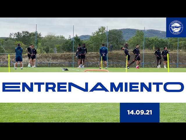 ENTRENAMIENTO | 14 de septiembre | Deportivo Alavés