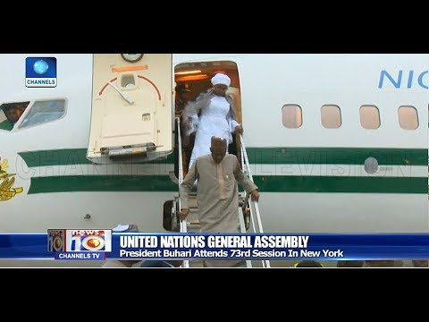 Buhari In New York For UN General Assembly