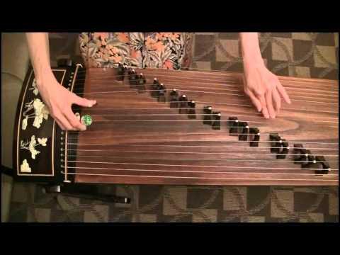 古箏: 繡金匾- 好感人,淚珠流下來了!guzheng Chinese Zither Solo