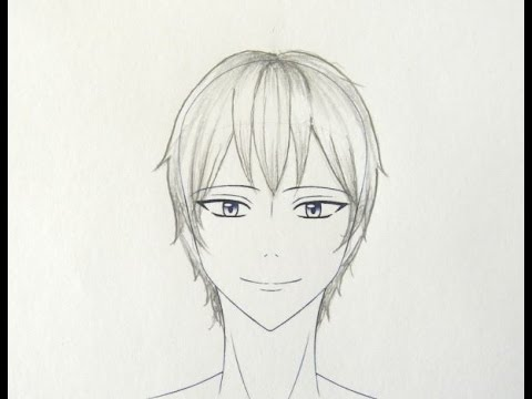 draw manga boy hairstyles