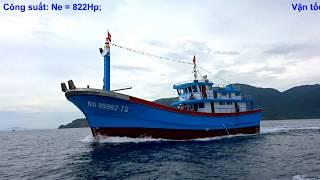 Là chiếc thứ 16 trong loạt tàu 24m, chiếc tàu cá vỏ composite thứ t...