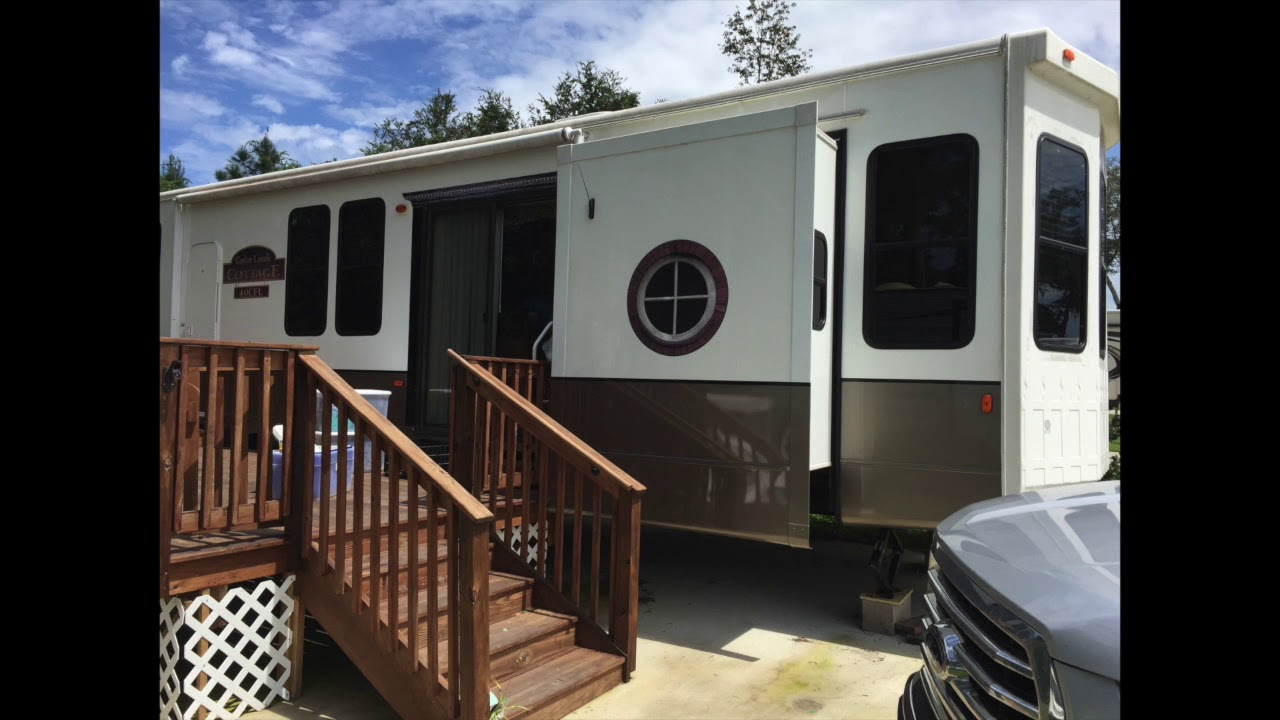 RV Awning protection - YouTube