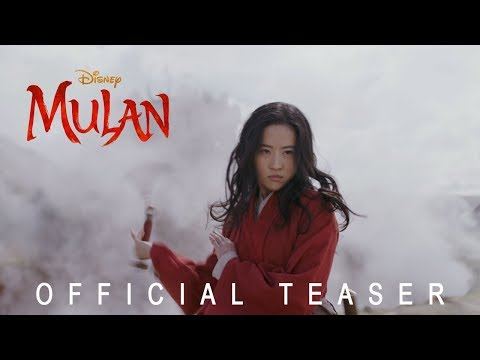 Kathy With a K - Disney's Mulan Official Trailer!