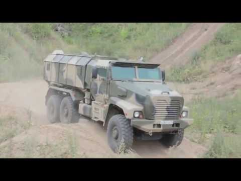 Industrie Russland |Ural 63099 Typhoon MRAP Vehicle & Other Russian Military Trucks |720p|