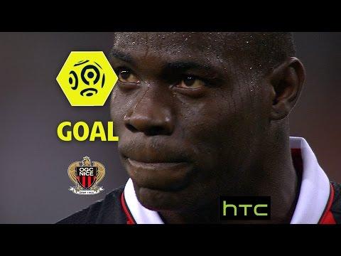 Goal Mario BALOTELLI (7' pen) / OGC Nice - Olympique de Marseille (3-2)/ 2016-17