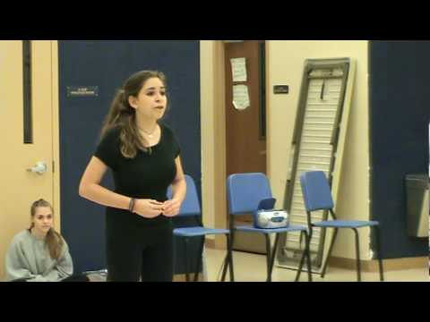 Another Hundred People- District Thespian Solo (kayla raquel schwartz)