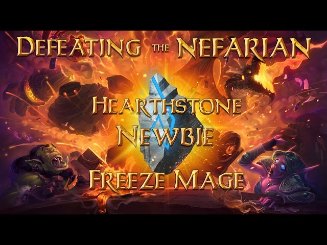 Defeating The Nefarian - Freeze Mage