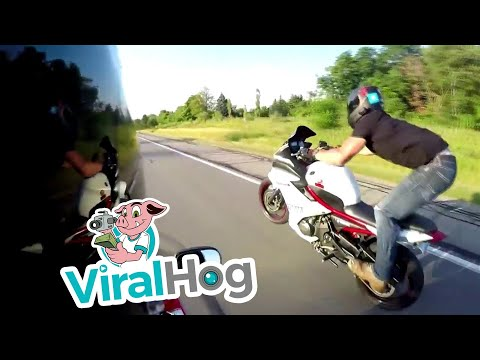 Thumbnail: Ridiculous Wheelie Turned into Road Rash in a Flash