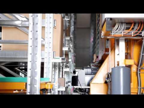 Globe Automatic Stacker Crane Spaggiari