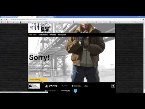 Ativando CD KEY do GTA IV (Games for Windows Live) [PC]