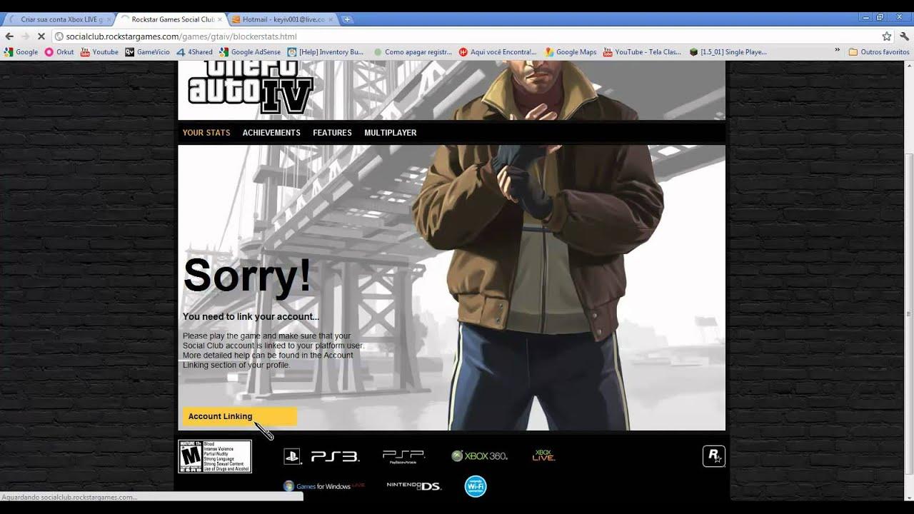 Ativando Cd Key Do Gta Iv Games For Windows Live Pc