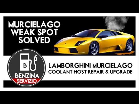 Lamborghini Murcielago Servizio – Coolant Hose Repair & Upgrade