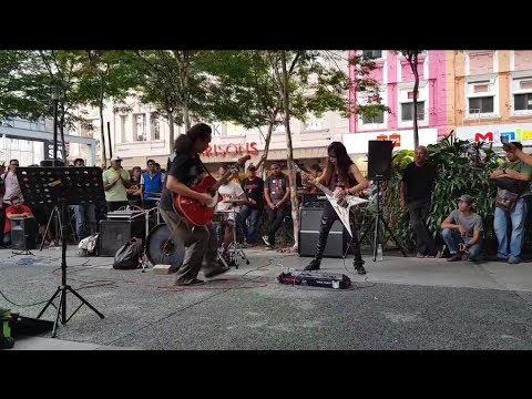 keliru-Sentuhan buskers feat otaii gitaris rock kapak mantap