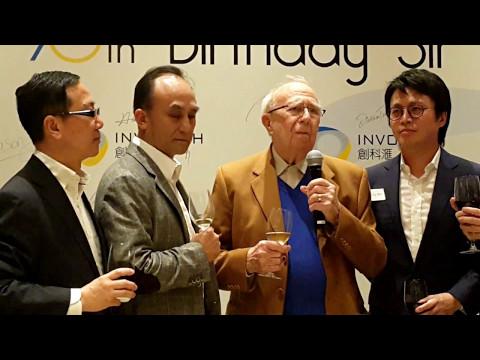 Happy 90th Birthday Sir David Akers-Jones!