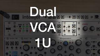 Dual VCA 1U