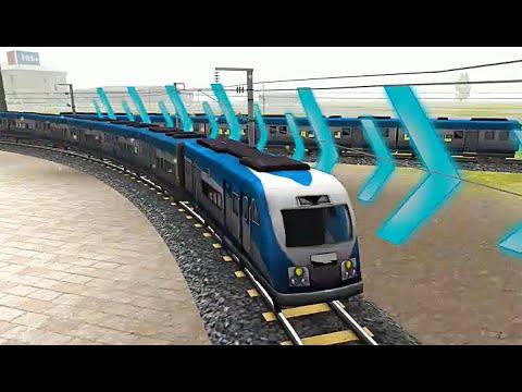 Train Simulator 2020: Real Racing 3D Train Games - India Chapter 2 Level 25 - Mumbai to Chennai