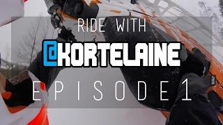 ski doo summit x 850   ride with kortelaine   episode 1