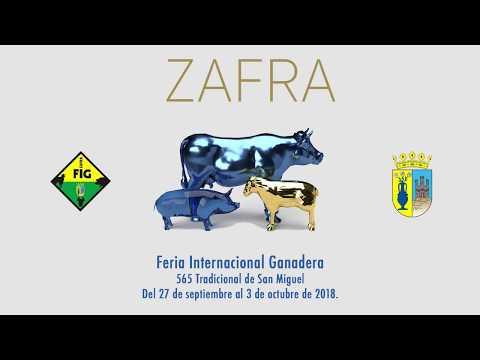 Video Promocional Feria Internacional Ganadera de Zafra 2018. Te esperamos.