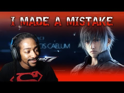 NOCTIS THOUGHTS - I WAS WRONG | TEKKEN 7 [PS4]