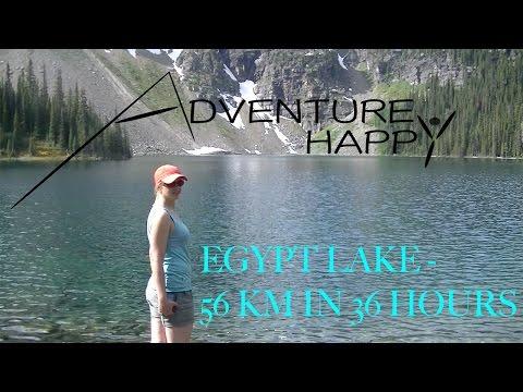Banff National Park - Egypt Lake 56km in 36 Hours