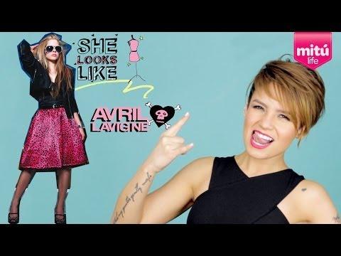 El Look de Avril Lavigne (She Looks Like - Epi 3, Season 2) - Maiah Ocando