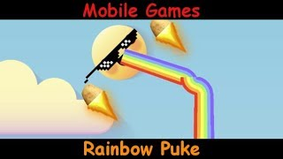 Rainbow Puke - Has A Cat Mode - Android & iOS Mobile Gameplay Game Review