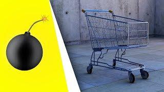 Er ist aus Gitter, Der Einkaufswagen (Lied) - Kanonenfutter Impro Theater