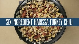 Six-Ingredient Harissa-Turkey Chili  Recipes  365 by Whole Foods Market