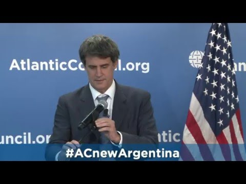 A Conversation with the Minister of Finance of Argentina Alfonso Prat-Gay
