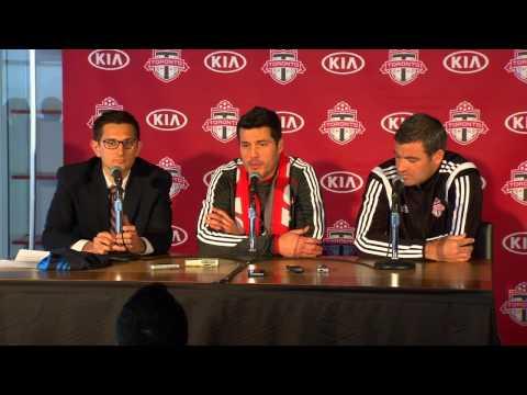 TFC Press Conference: Julio Cesar