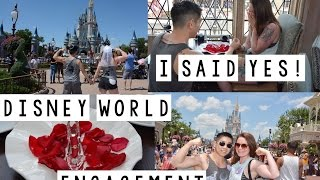 Disney World Engagement! | Cinderella's Royal Table | Magic Kingdom