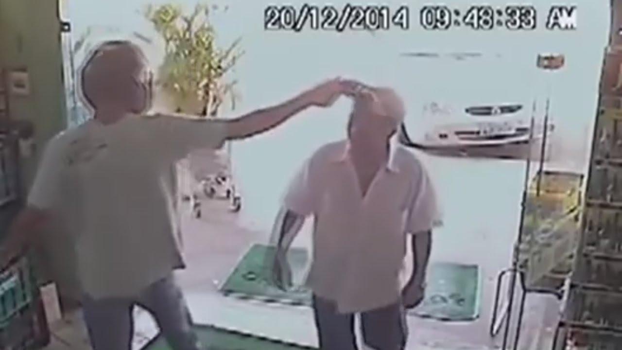 «Бразильский Чак Норрис» отмахнулся от вооружённого грабителя