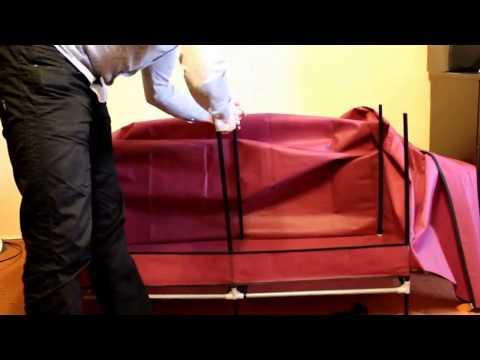 Тканевый шкаф - классная идея и быстрая сборка!
