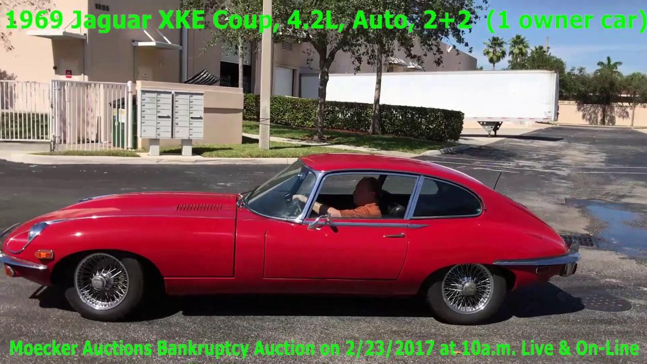 1969 jaguar e type coupe 42 l 22 youtube 1969 jaguar e type coupe 42 l 22 freerunsca Choice Image