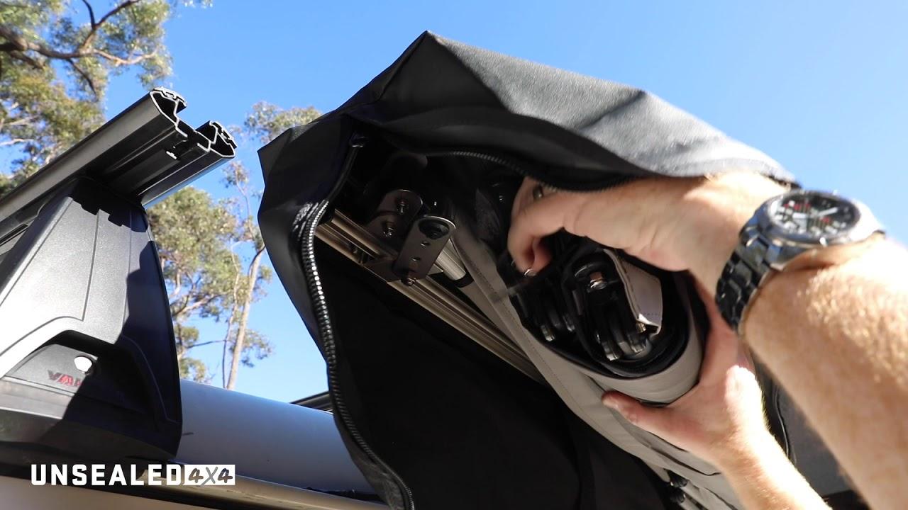 DIY Driveway: Supa-Peg Rapid Wing 6 Awning - YouTube