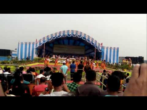 A remarkable Bwisagu Dance from the Crowd 16th Bodoland Day observation2018