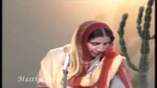 Lambi judai, chaar dina da, pyar ho rabba..Reshma ..a tribute
