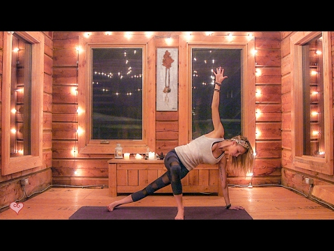 Yoga For Stress & Strength ♥ Candlelit Evening Flow