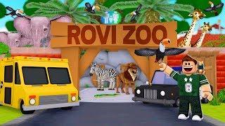 MIS NUEVOS ANIMALES | Roblox Zoo Tycoon