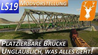 "[""LS19"", ""FS19"", ""Landwirtschafts Simmulator"", ""Modvorstellungen"", ""Playtest"", ""gameplay"", ""Hof Hirschfeld"", ""Hirschfeld Logistics"", ""Farming Simmulator"", ""Courseplay"", ""Modding"", ""Mod"", ""platzierbare Objekte"", ""Brücke"", ""platzierbare Brücke"", ""Straßen ba"