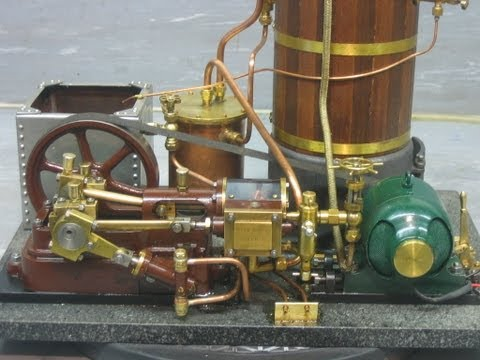 Model Steam Engine With Generator