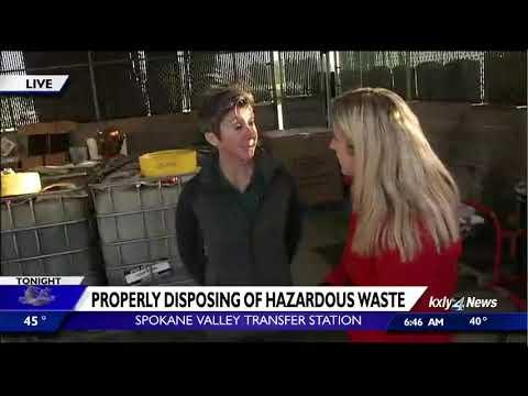 Properly disposing of hazardous waste