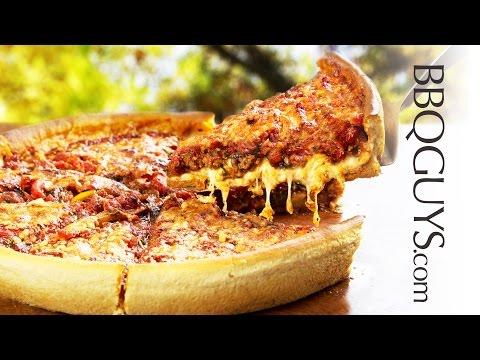 Deep Dish Pizza Recipe - Lynx Napoli Pizza Oven - BBQGuys.com