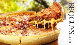 Deep Dish Pizza Recipe - Lynx Napoli Pizza Oven - BBQGuys.com