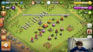 MUNICIPIO 3 IN LEGA CRISTALLO! #5 - Clash of Clans ITA