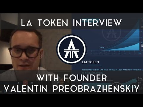 LA Token Interview | With Valentin Preobrazhenskiy