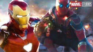Avengers Endgame Final Battle Deleted Scene - Iron Man Spider-Man Alternate Ending Breakdown