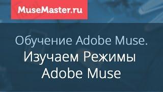 #4. MuseMaster.ru. Режимы Adobe Muse