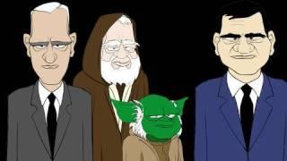 Star Wars - Dragnet Cartoon Spoof -L.A. Dicks