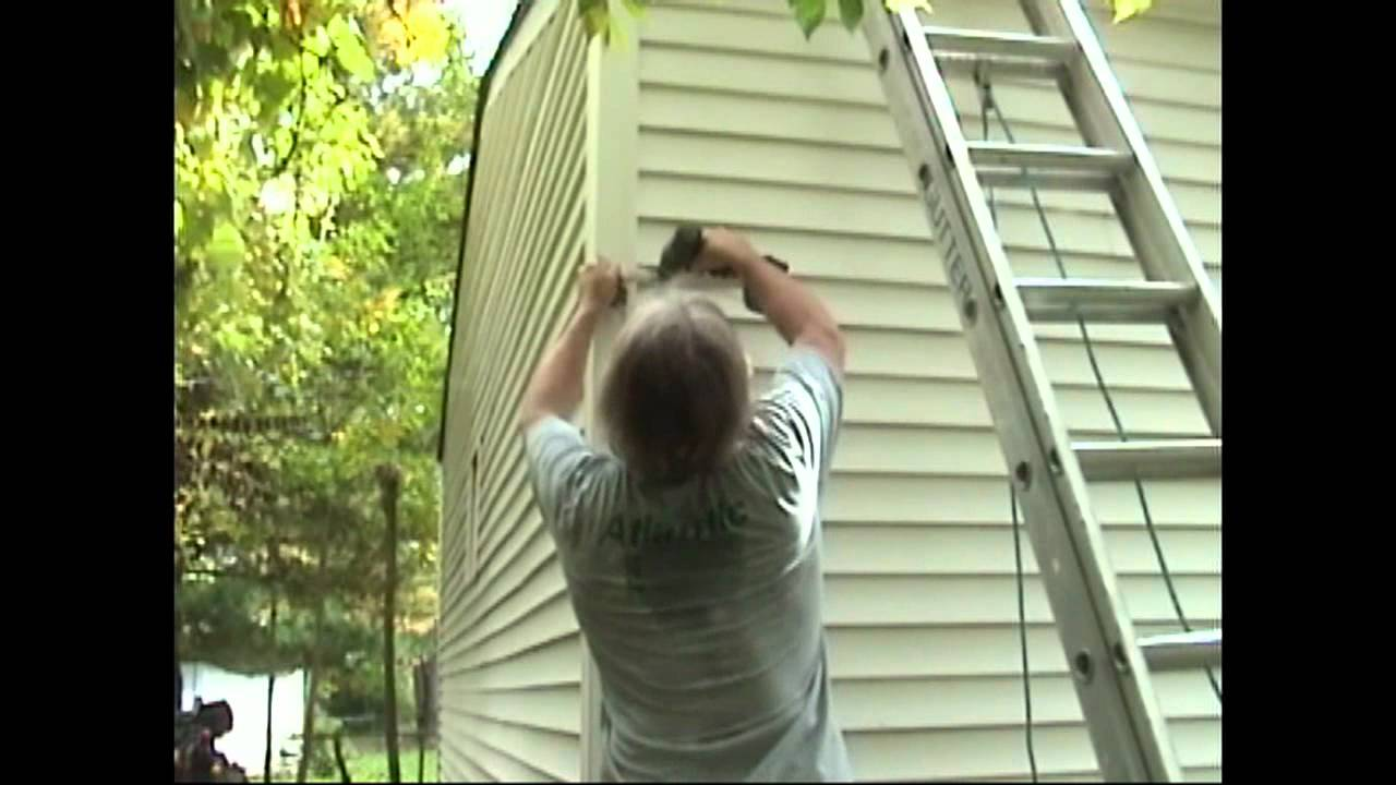 Atlantic Drain Howto Install New Gutters Phase 4